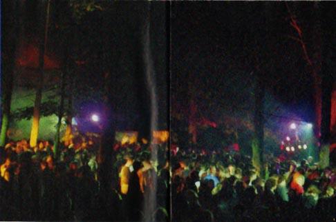 Free party clandestine organisée à fontaineblau en 1995